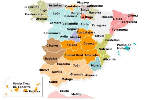 mapa espanha valladolid A Guerra Civil Espanhola (1936 1939) | Euro Magazine | Portuguese  mapa espanha valladolid